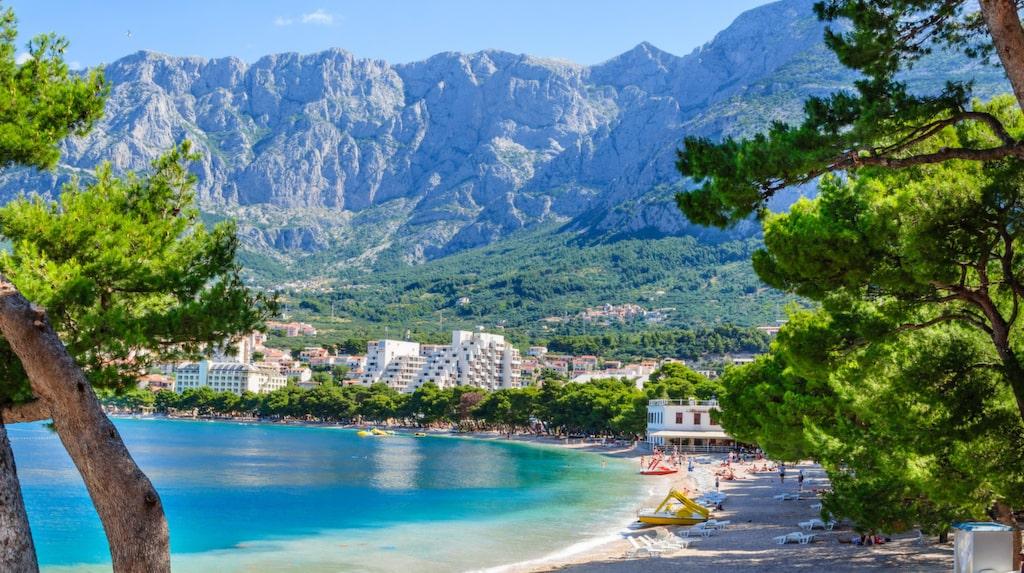 Ljuvliga Makarska Rivieran