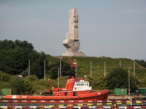 Här vid Westerplatte inleddes andra världskriget.