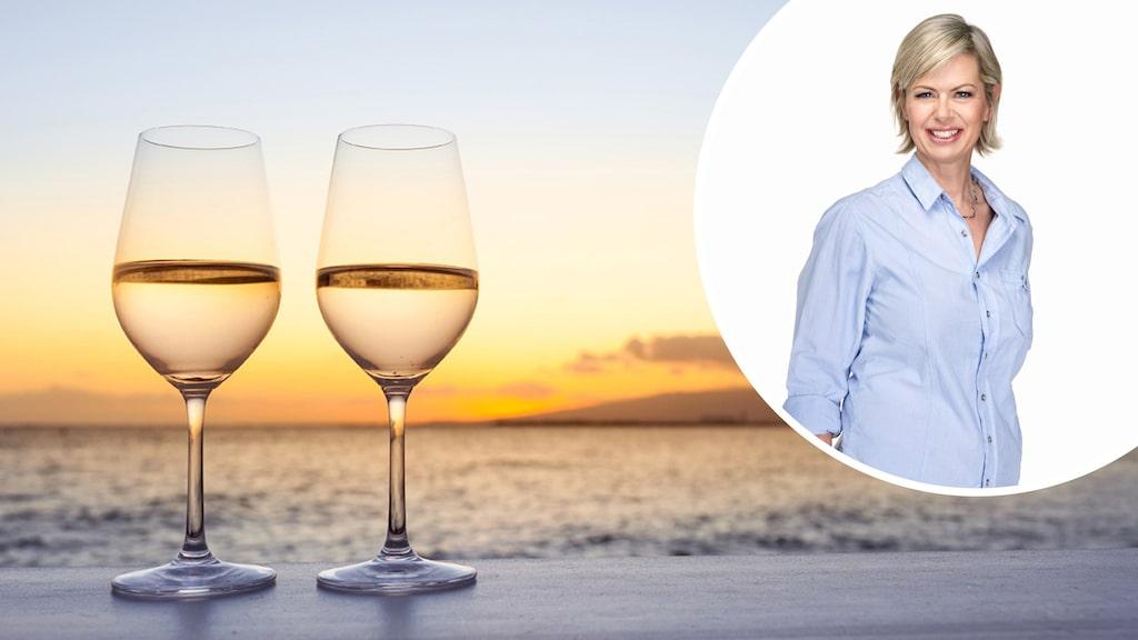 Gunilla Hultgren Karell  tipsar om rött, vitt och bubbel från de populära vinländerna i södra Europa.