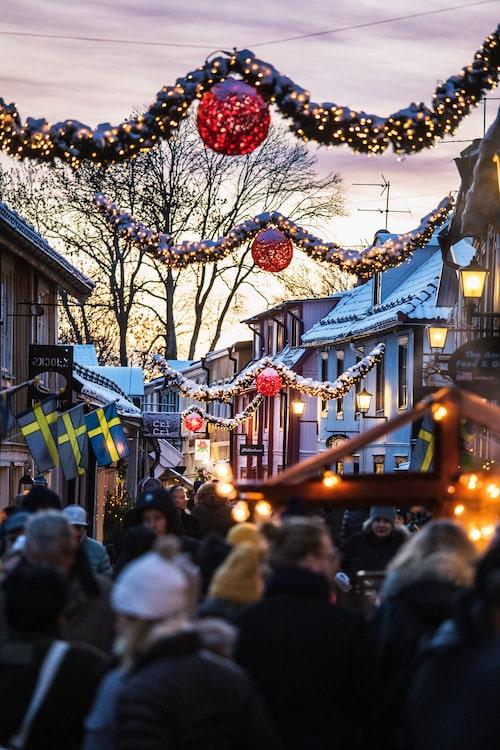 Fin julstämning i Sigtuna – Sveriges äldsta stad.