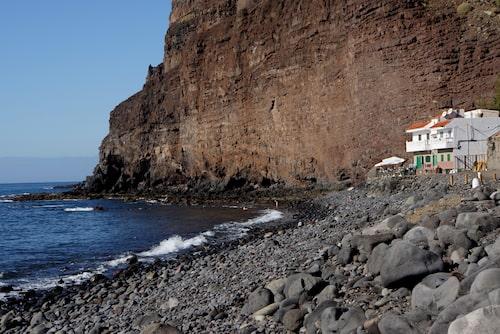 Playa de Tasarte, världens ände...
