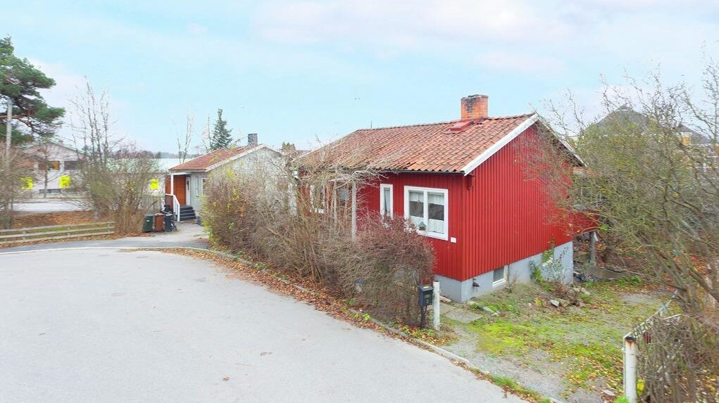 Huset i Bromma byggdes på 40-talet.