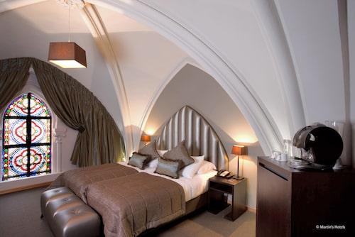 Martin's Patershof i Mechelen är ett hotell inrymt i en tidigare kyrka.
