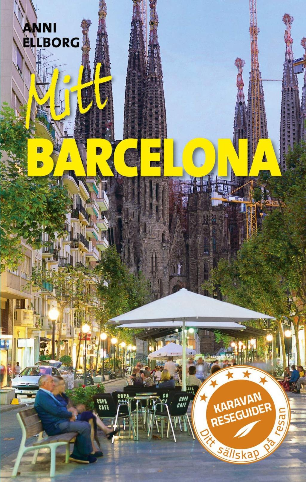 """<p>Boken """"Mitt Barcelona"""" av Anni Ellborg.</p>"""