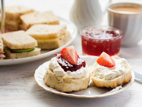 Hoppa över afternoon tea? Finns inte på kartan.