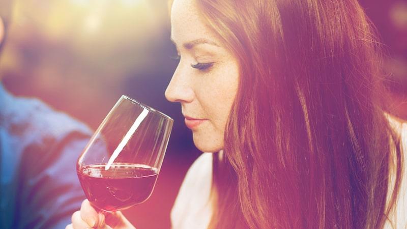 Doften avslöjar mycket om vilka druvor som finns i glaset.