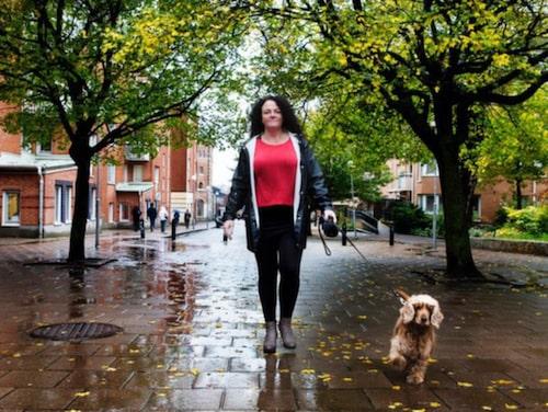 """Lotta Ahlén, 47: """"Jag har inte lika stora skov av fibromyalgin och återhämtar mig snabbare när de kommer."""""""
