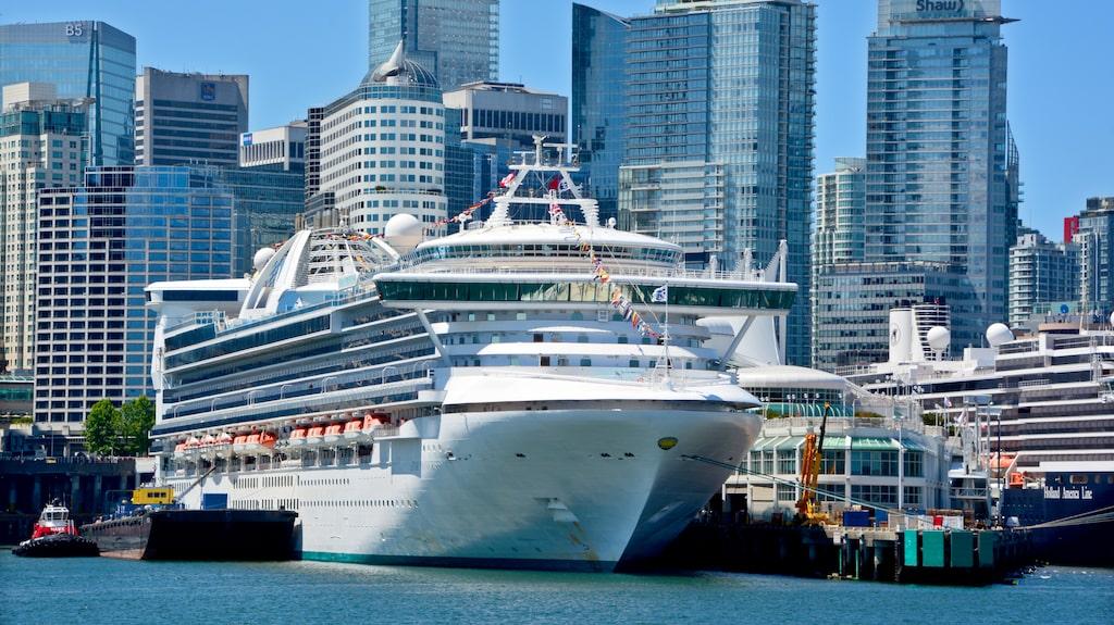 Emerald Princess är en av fyra fartyg som ingår i rapporten.