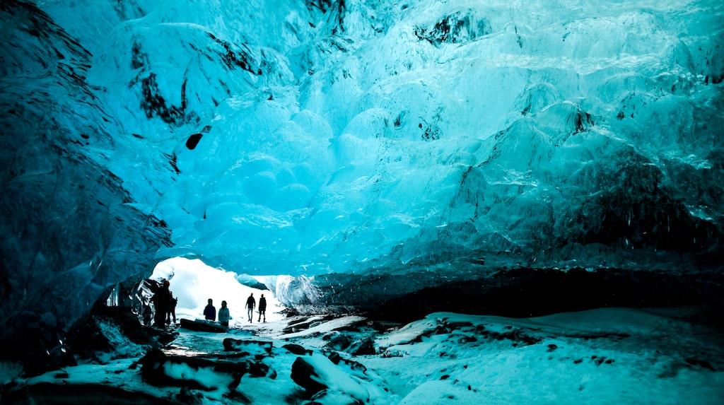 Den isländska glaciären Vatnajökull är en mäktig plats-