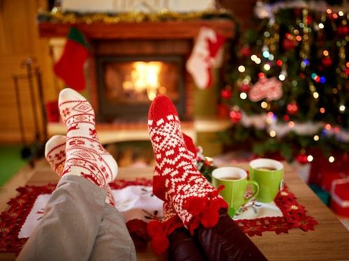 Det är också helt okej att slumra till under jul.