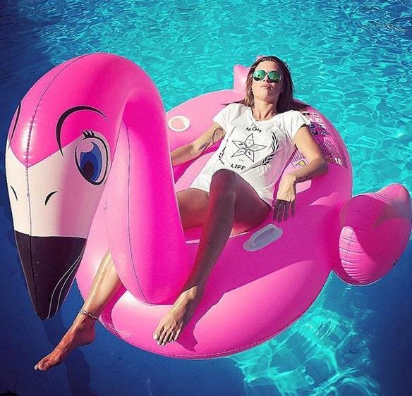Länge sedan var det vi såg en så tydlig trend som flamingo-trenden i år...
