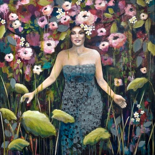 """Unik chans! Det finns endast ett exemplar av originalet """"Garden Magic"""" hos NOA Gallery."""