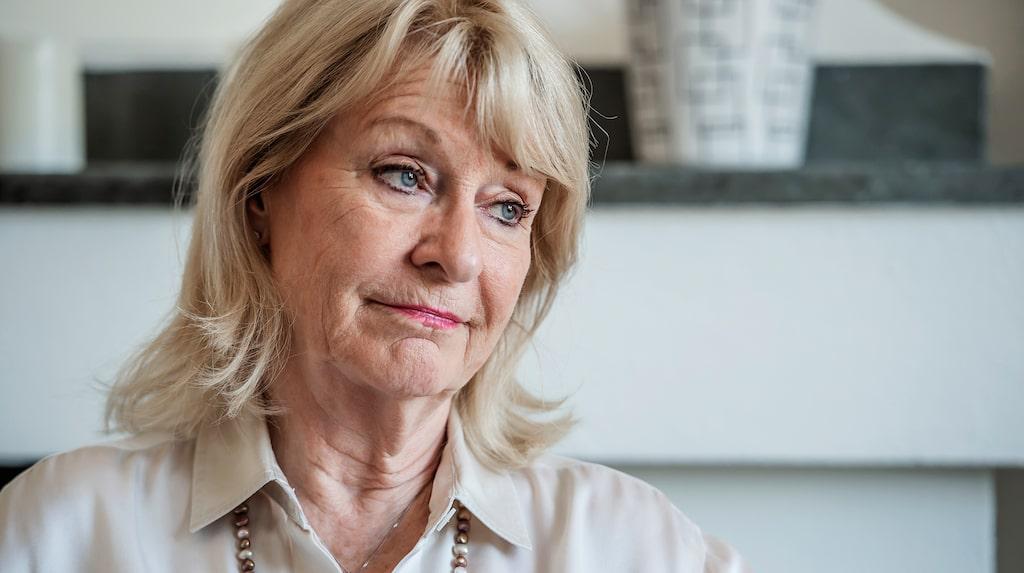 Alexandra Charles, 71, har haft hjärtrusningar sen barndomen.