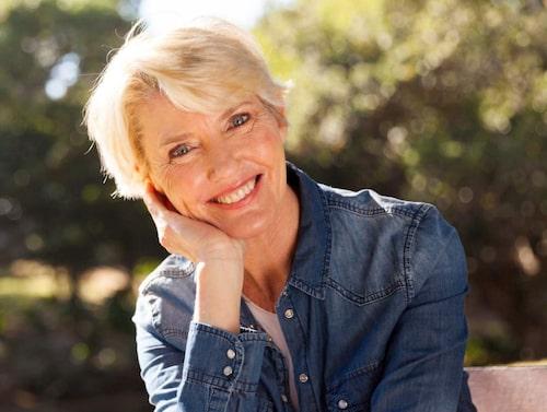 I 50-årsåldern upplever många svåra hormonförändringar.