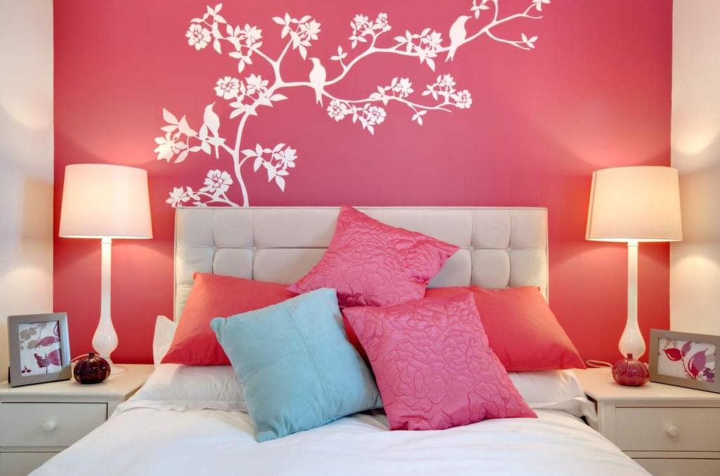 Så här fint kan det bli om du bestämmer dig för att måla om väggarna hemma.