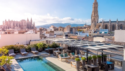 Sant Francesc Hotel Singular – herrgårdselegans intill Catedral de Mallorca.