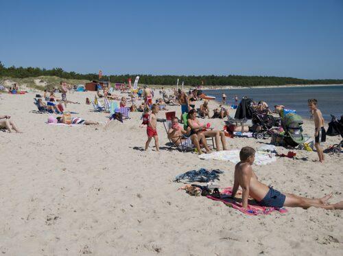 Böda Sand på Öland är Sveriges kanske mest kända campingplats och strand.