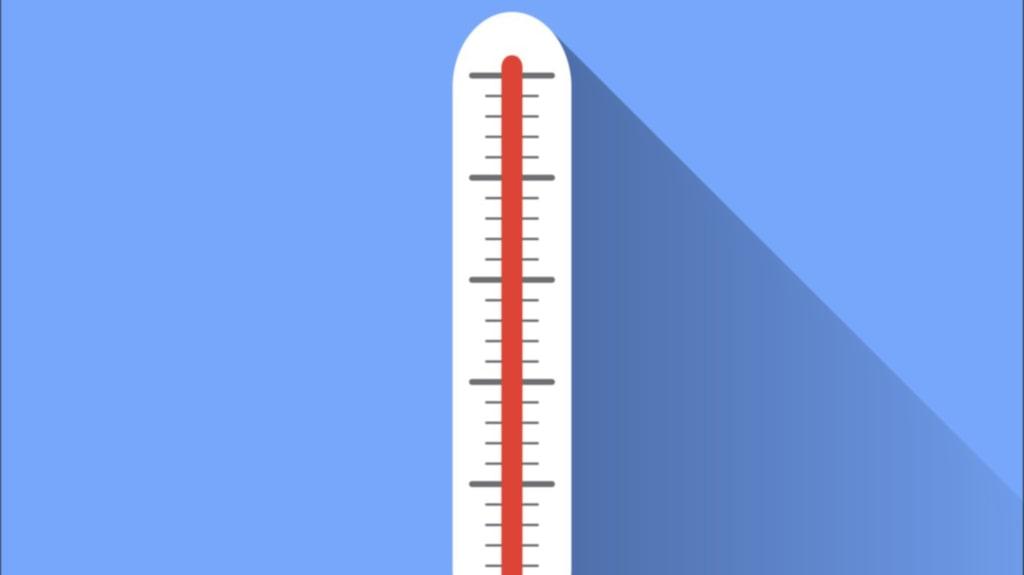 <p>16-18 grader är ett bra riktmärke.</p>