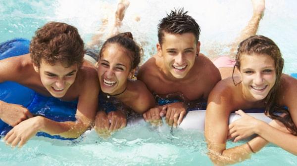 Skövdes upplevelsebad har flera år i rad röstats fram som Sveriges bästa äventyrsbad.