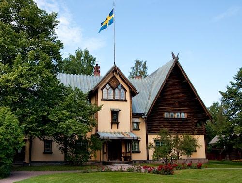 På Zorngården kan man se hur Anders och Emma Zorn bodde.