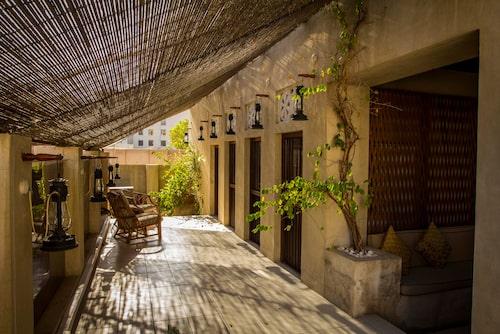 XVA Art Hotel är ett lugnt boutiquehotell i den gamla delen av Dubai.