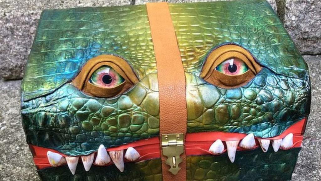 Väskorna är gjorda av företaget Fine Line Workshop.