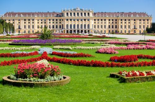Schönbrunn, en av de mest betydelsefulla kulturupplevelserna i Österrike.