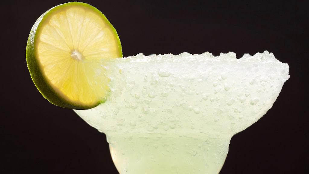 En klassisk frozen margarita