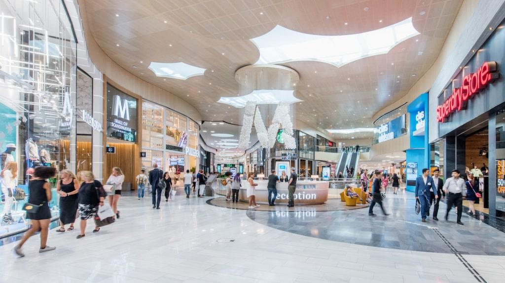 Mall of Scandinavia i Solna är det senaste tillskottet bland galleriorna i Stockholmsområdet.