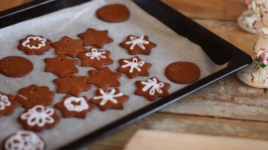 Gör ätbart julgranspynt!