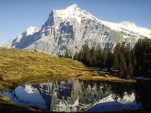 De här bergen kan du se i sjättefilmen.
