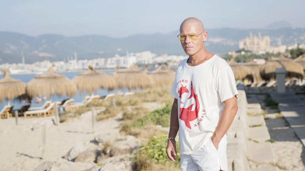 Författaren Mons Kallentoft har bott på Mallorca i fem år.