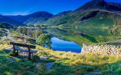Vilsamma vyer i Lake District.