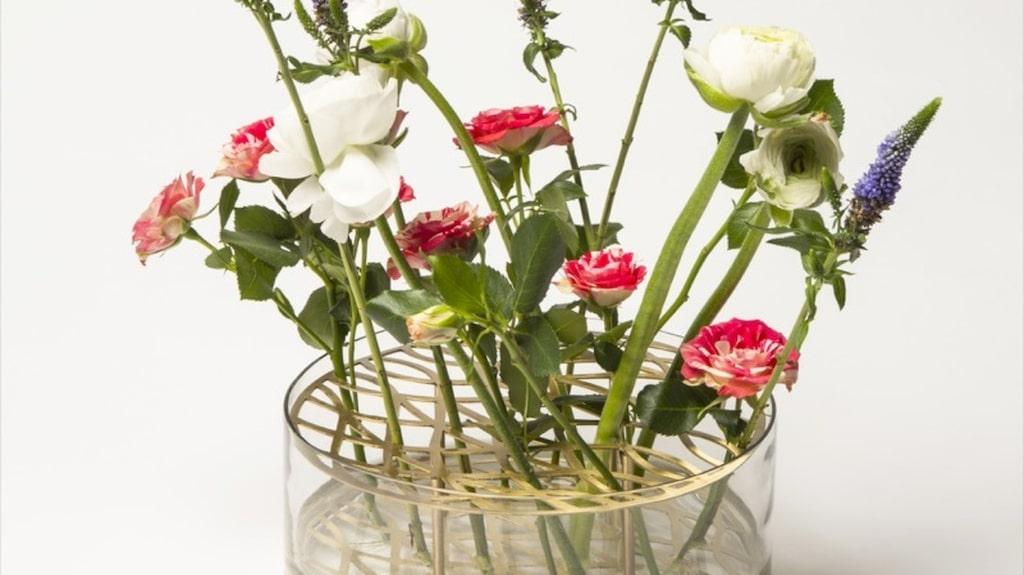 """Originalet, """"Äng""""-vasen från Klong. Pris 1200 kronor."""