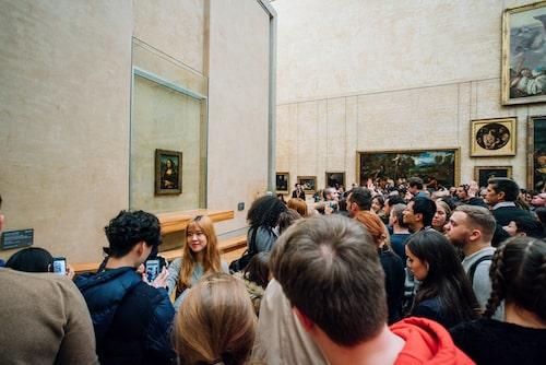Att ta in Mona Lisas storhet görs bäst online.