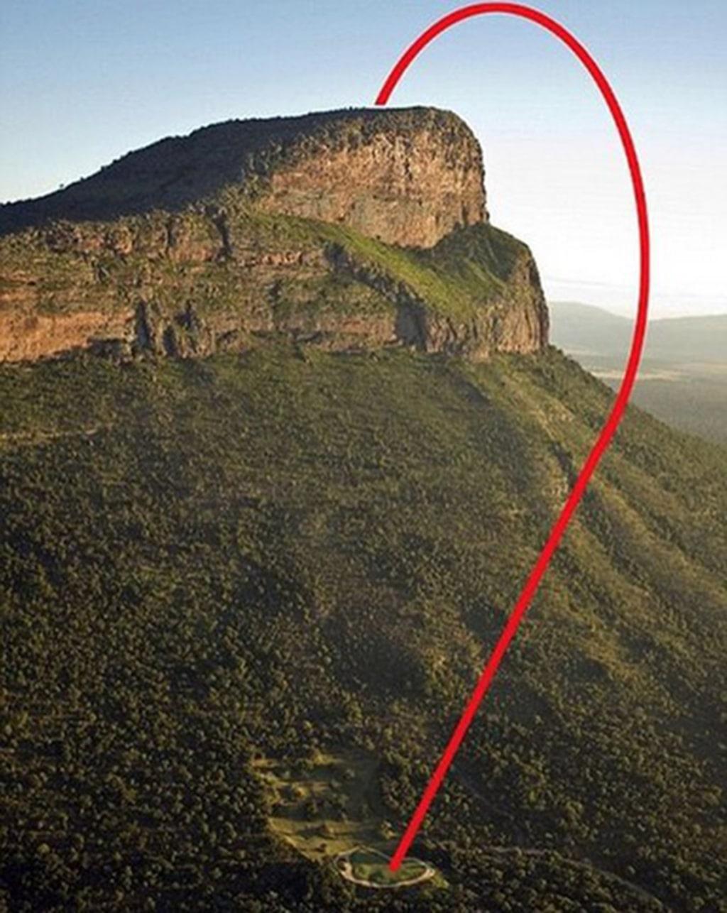 <p>Så här går turen med helikopter för att komma till tee.</p>