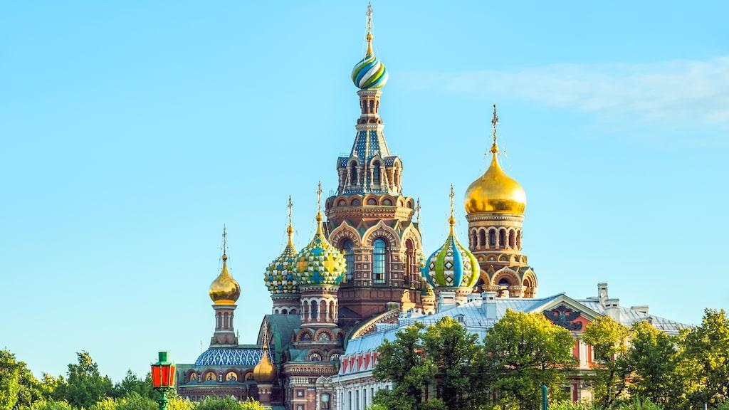 Sankt Petersburg i Ryssland ligger på storstadsindex 37, jämfört med Stockholms 100.