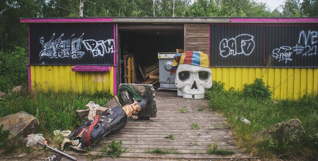Man trodde inte att det fanns såna här spöklika platser i Sverige...