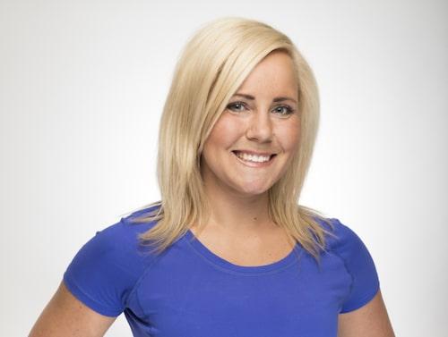 Alina Boström, personlig tränare och kostrådgivare.