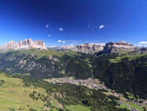 Canazei och Val di Fiemme.
