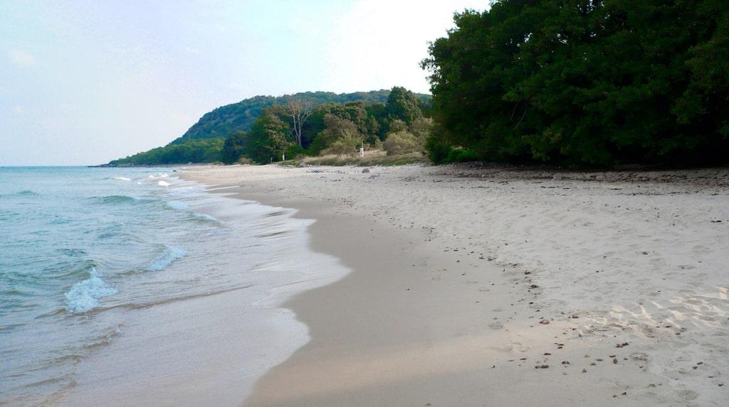 Stenshuvuds strand påminner om Karibiska paradisstränder.
