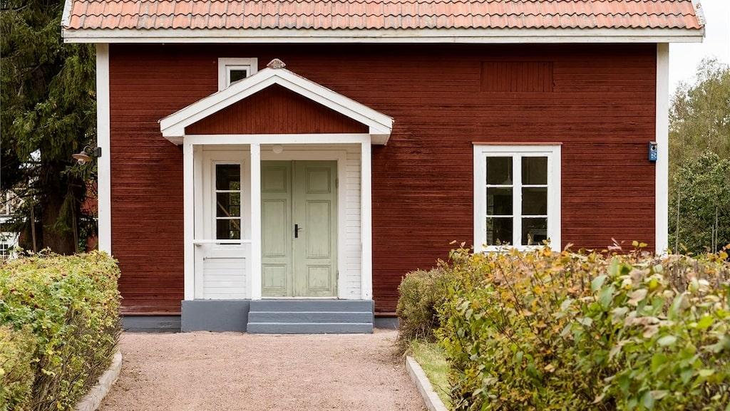 Stugan är byggd 1930.