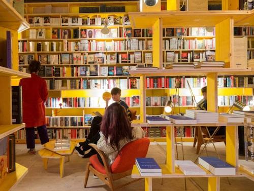 Libreria Bookshop är bokmalens dröm.