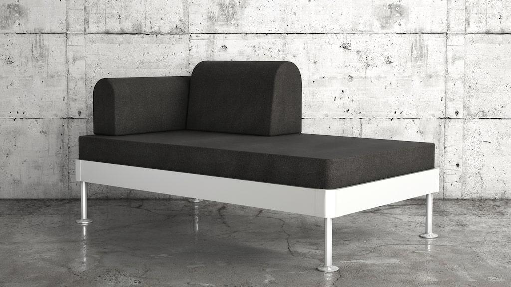 """Denna soffa, planerad till februari 2018, är inte vilken soffa som helst – det blir deras första produkt någonsin med en design som uppmuntrar till """"hacking"""". Detta är endast en prototyp."""