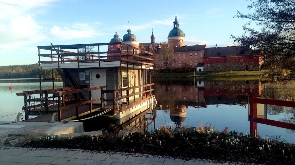 Marina Rummet, granne med Gripsholms slott.