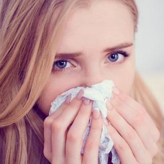 varför rinner näsan vid förkylning