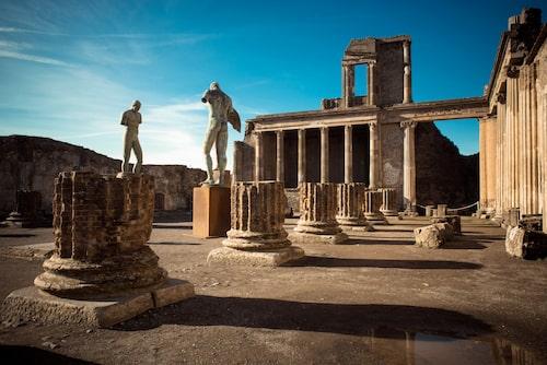 I Pompeji finns chansen att uppleva vardagslivet i Romarriket.