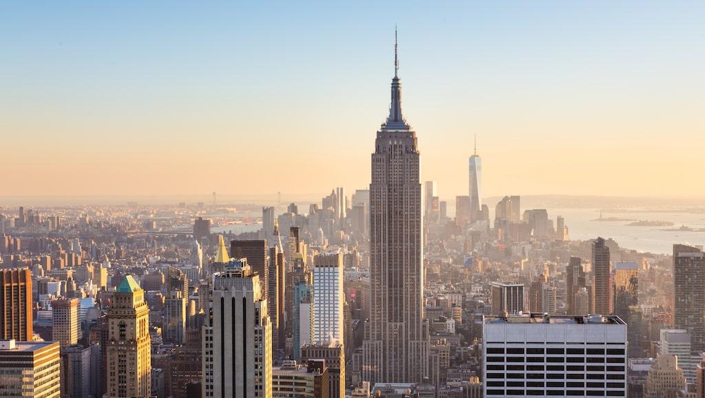 Vi tröttnar aldrig på Manhattan.