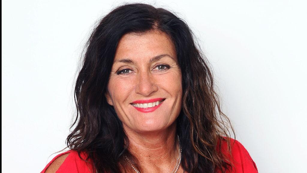 Mari Jungstedt är tokkär i Gran Canaria.