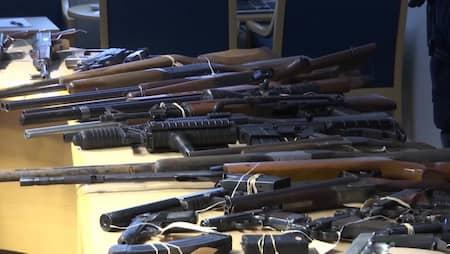 Bandidos förlorade hela vapenlagret vid tillslaget